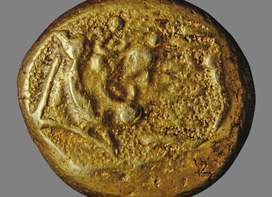 Den ältesten Münzen Im Mittelmeerraum Auf Der Spur