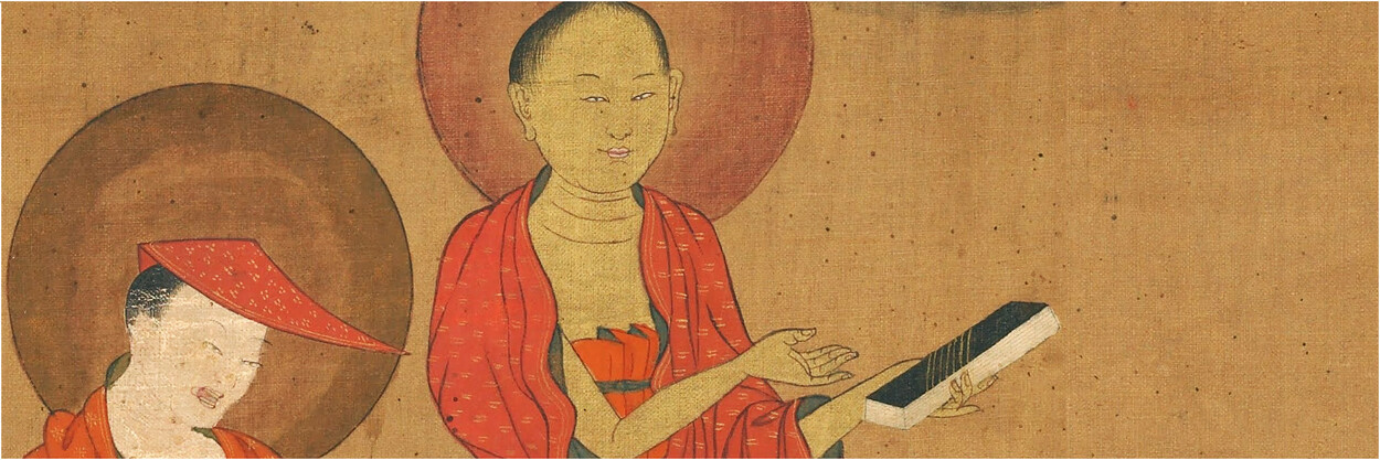 Nāgārjuna and Āryadeva, Eastern Tibet, 19th c. © Rubin Museum of Art