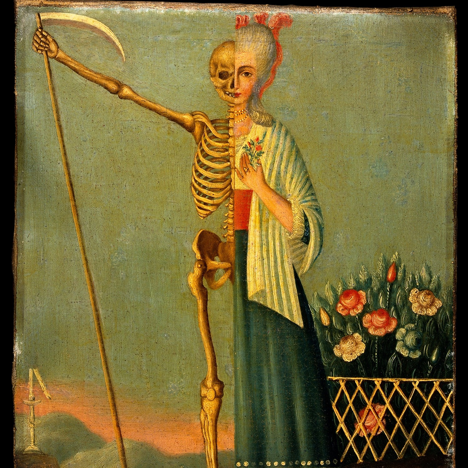 Life and death. Oil painting © Wellcome Collection/CC BY 4.0