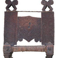 Chair from Swat-Kohistan (first half of the 20th cent. CE)